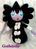 Gothitelle Plushy by CeltysShadow