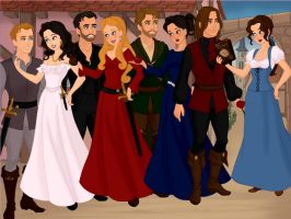 True Love Couples Of OUAT by simplyshelbs16