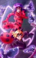 Miraculous ladybug by ThaIssing