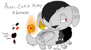 Anti-Cupid Puppy Adoptable by SPANIEL--PHANT0M
