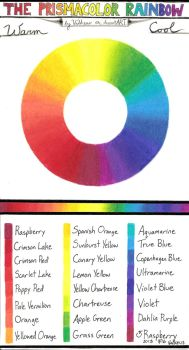 Prismacolor Pencil Combinations 1: Rainbow by Valkeus-and-Varya