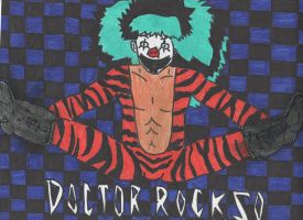 I'm Just a Rock and Roll Clown by DelphiniumFleur