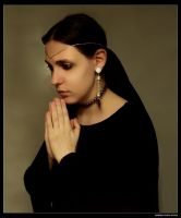 Sabrine 207 - Praying by sabrine-photo-stock