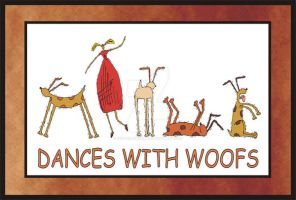 Dance with Woofs by Octavia-Drusilla