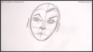 How to Draw a Woman's Face 016 by drawingcourse