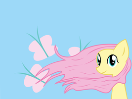 Fluttershy wallpaper by serpifeulover
