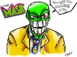 The Mask- BIG HEAD by simotaku