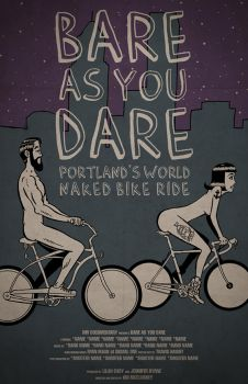 Bare As You Dare Poster by recipeforhaight