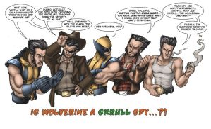 Is Wolverine a Skrull? by AdamWithers