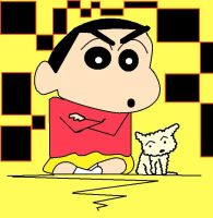 shin chan by RENNELL