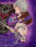 Vampire Knight - Zero and Yuki by Yoite7