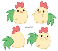 Chibi Rooster by Daieny