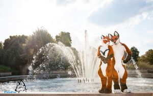 EuroFurence - Asha and Tellos [Wallpaper] by FotoFurNL