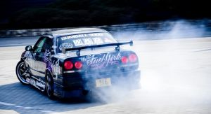 Nissan Skyline R34 Drift 01 by miki3d