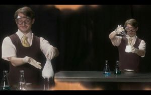 Elijah Wood  as  a chemist by TheAngi27