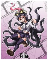 Skullgirls - Filia by hooksnfangs
