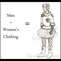 Men + Women's Clothing Equals by icyookami