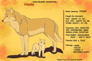 Maska - Informations sheet by Aquene-lupetta
