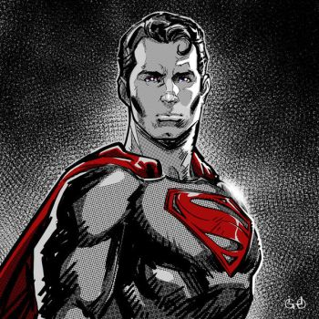 S is for Superman by Igloinor