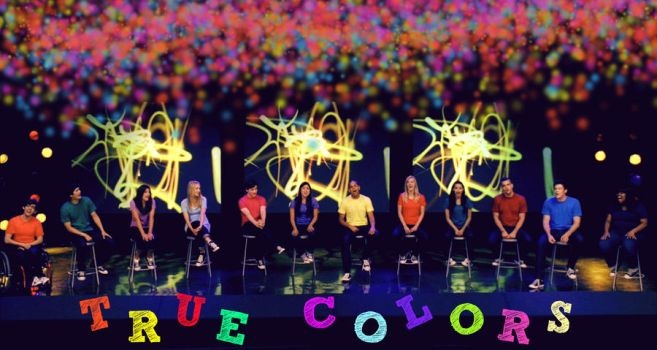 True Colors Glee by MerygLeek