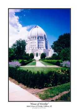 House of Worship, Chicago II by Bahai