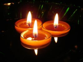 Floating Candles 2 by FantasyStock