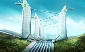 HORIZON - Airport Towers Alternate Version by IllOO