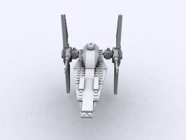 Lego Star Wars V-Wing 6205 Fr by d100763