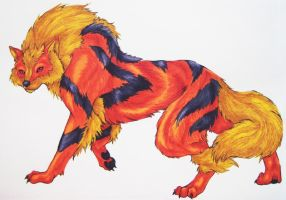Arcanine by LastHarliquin