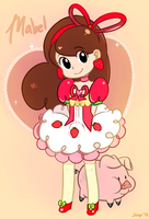 Strawberry Shortcake Mabel by Jiayi