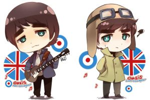 .: Gallagher Brothers :. by PepperMoonFlakes