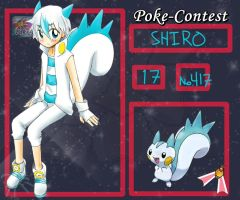 PokeContest- SHIRO by musflay