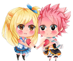 NaLu (Fairy tail) by KyouKaraa