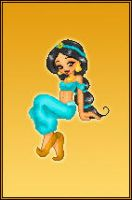 Disney Dollz: Jasmine by NoctiaVG