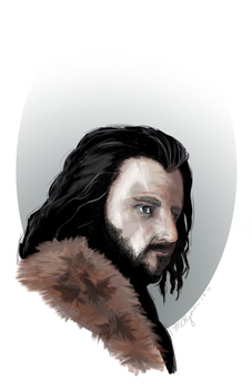 Thorin by madelinebyrne