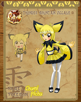 Pokimono - Chumi the Pichu by HeroineMarielys