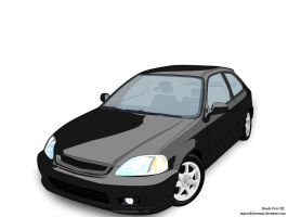 Honda Civic EK by impossiblynormal
