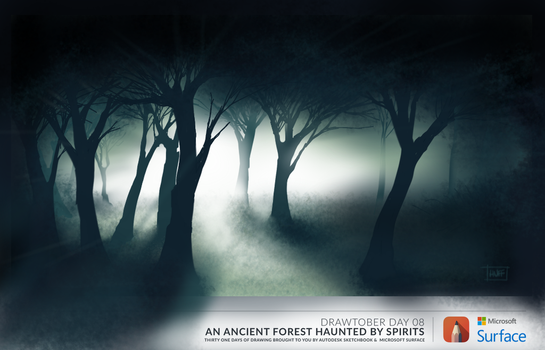 Haunted Forest by Huffnstuff