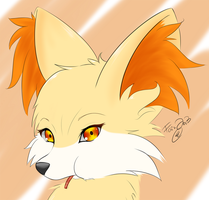 Fennekin by MetalRenamon
