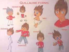 Guillaume forms by Guillaume-Esteban