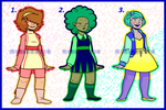 Adoptable Set 2 (OPEN) price reduced by Miniboo118
