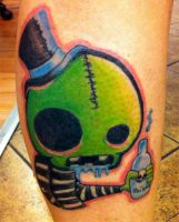 Monster Tattoo by RockabillyReese