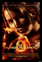 hunger games movie poster by WhovianForLife