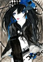 Black Rock Shooter. by BladeWithin