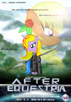 After Equestria pony Movie poster release by AVCHonline