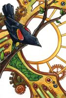 Clockwork Blackbird by LadyViridis