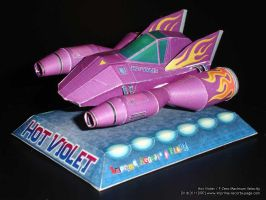 Hot Violet F-Zero Maximum Velocity by Dil1880