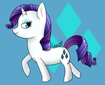 Rarity by ILoveCowz