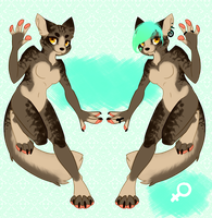 Refsheet + Character Auction! OPEN by xMerchant