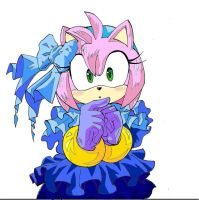 Amy colored sketch by SMSSkullLeader